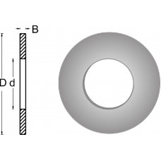 RING 20X13 CIRKELZAAGBLAD , D= 20