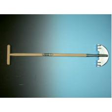 GRASKANTSTEKER VERZINKT MET STEEL 80 X 2,8 CM MET HILT.