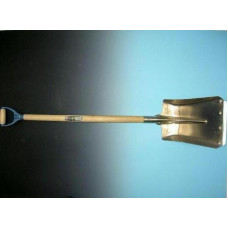 BALLASTSCHOP OFFNER ALUMINIUM MET STRIP EN ATLAS PD-STEEL 95 CM. GEBOG
