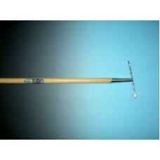TEGEL - VOEGEN - ONKRUIDKRABBER VERZINKT MET STEEL 150 X 2,8 CM.