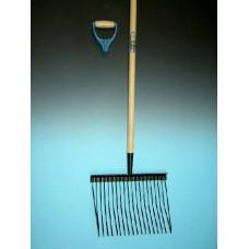 PAARDENSTALVORK METAAL MET STEEL EN PD-GREEP, LENGTE STEEL INCL. GREEP