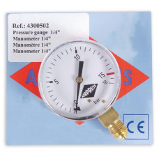 "MANOMETER 1/4"" - BLISTER"
