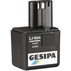 ACCU 14,4V. 2.6 LI-ION 7251049 GESIPA
