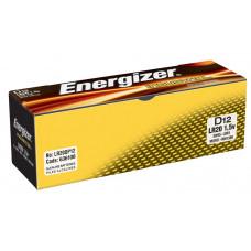 12 PILES ENERGIZER INDUSTRIAL D