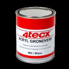 GRONDVERF ACRYL GRIJS 0,75LTR 4TECX