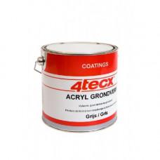 GRONDVERF ACRYL CREMEWIT RAL9001 2,5LTR 4TECX