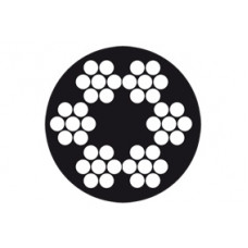 STAALK. 6X7+1TWK 1.5-2.5MM VZ. PVC ROL 100 M / 671-1525PR100