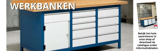 Topkwaliteit werkbanken van Brakel.
